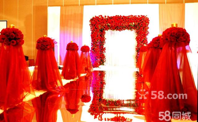 大红色主题婚礼