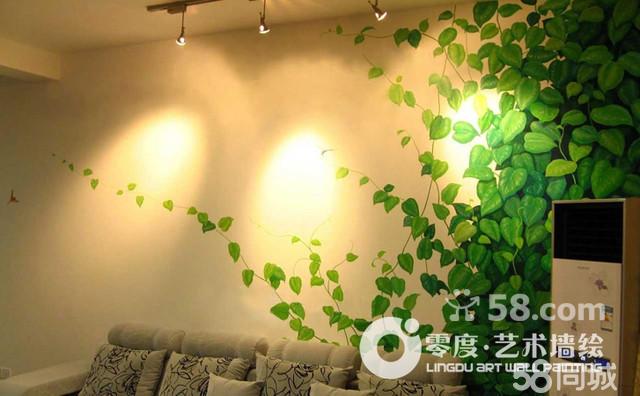 北京儿童房彩绘,北京玄关彩绘,北京藤蔓墙绘,北京京地中海墙绘,北京