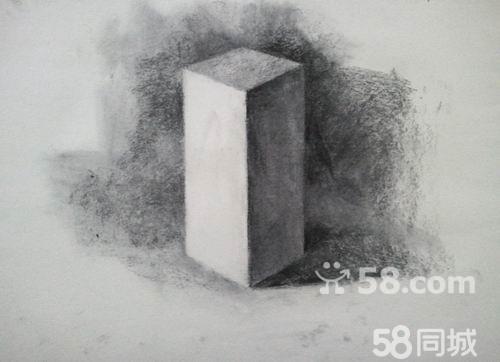 素描石膏几何体多个展示