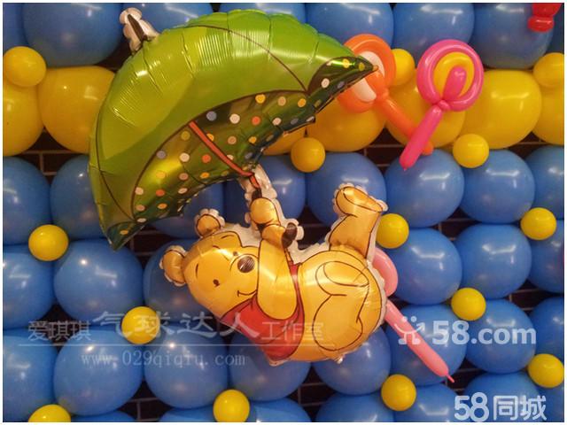 维尼熊气球造型