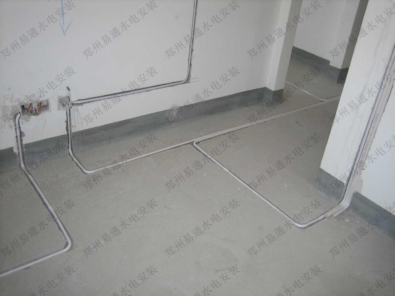 水电安装系统图 暗装水电安装图纸 水电安装图集大全