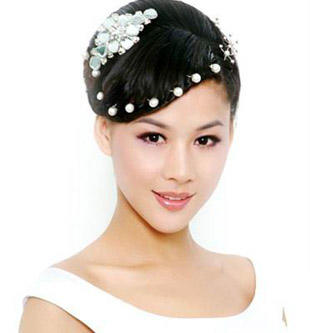 新娘旗袍造型 2014最新新娘旗袍造型 当天新娘旗袍造型图片