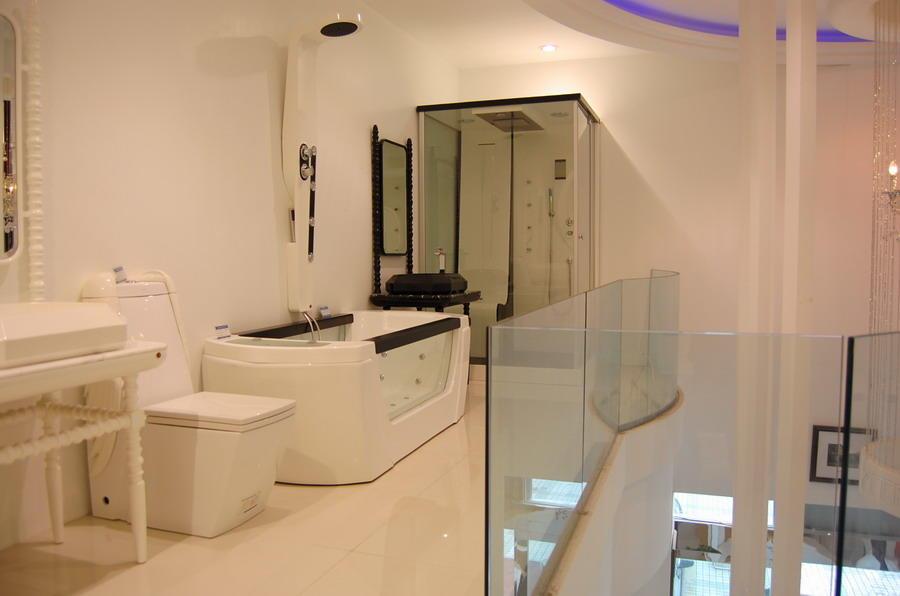 卫浴店铺装修电路图