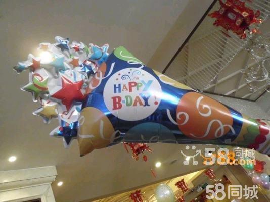 北京氦气球装饰_北京气球装饰 商场活动飘空氦气球布置 气球造型制作—58商家店铺