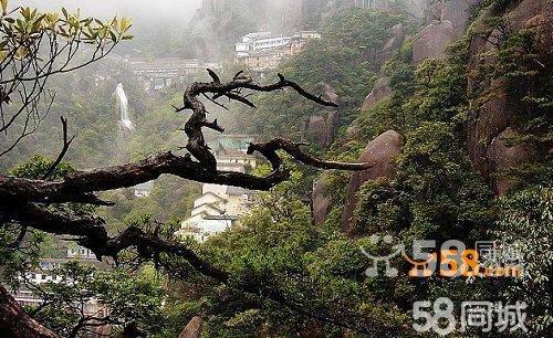 武汉到三清山旅游线路
