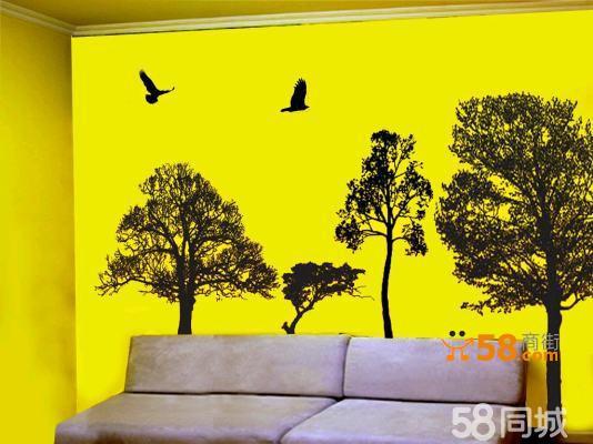 墙绘 手绘墙 彩绘
