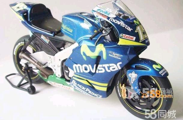 honda本田 摩托车车模静态模型