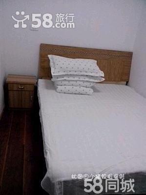 房间内部情况: 简约经济型风格,实木大床.