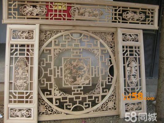 木雕雕花窗—58商家店铺
