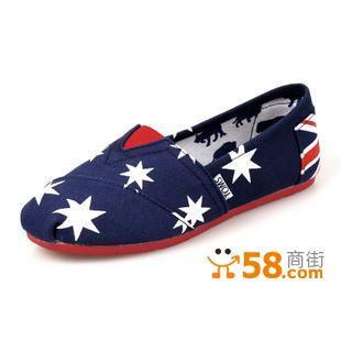 最新款的toms帆布鞋