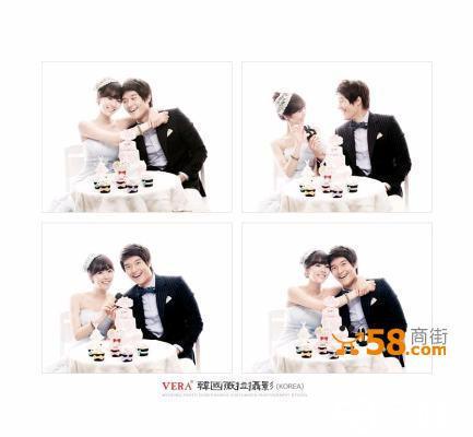 韩国薇拉婚纱摄影套餐特惠仅4500元