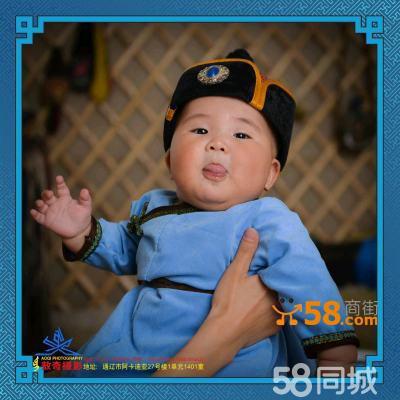 蒙古元素儿童摄影