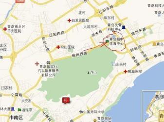 [场馆地图] 青岛国信体育馆